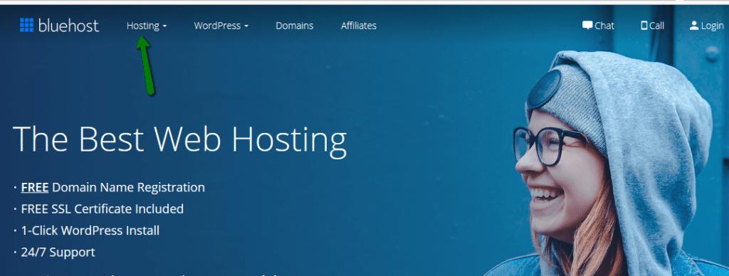 חברת אחסון מומלצת Bluehost