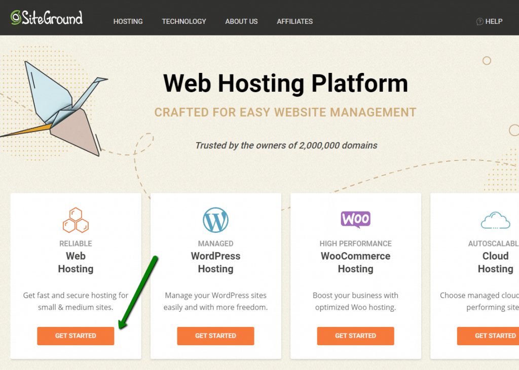 siteground recommended hosting